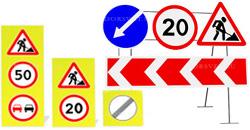 Дорожные знаки светоотражающие